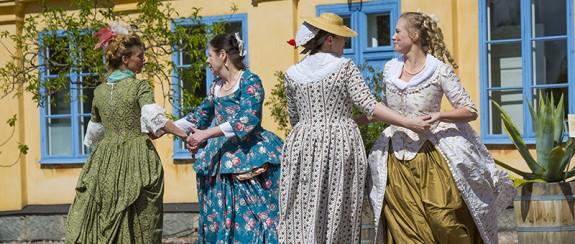 Linnés trädgårdsfest